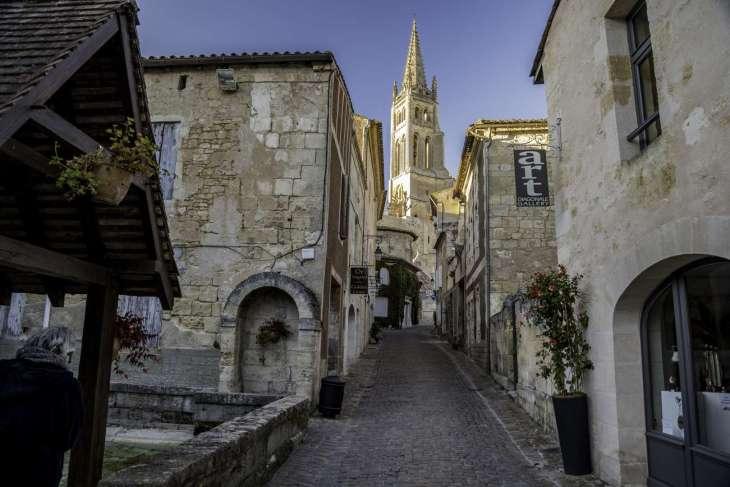 I vigneti di Saint Emilion  patrimonio Unesco
