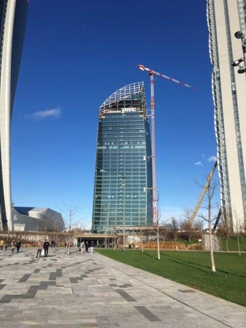 La Torre Libeskin che sarà terminata nel 2020