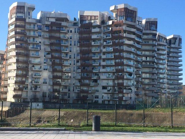 la residenze Liebskin a Milano nella zona della ex fiera, ora Citylife