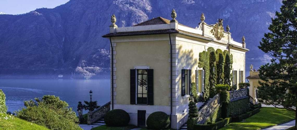 la loggia di Villa del Balbianello
