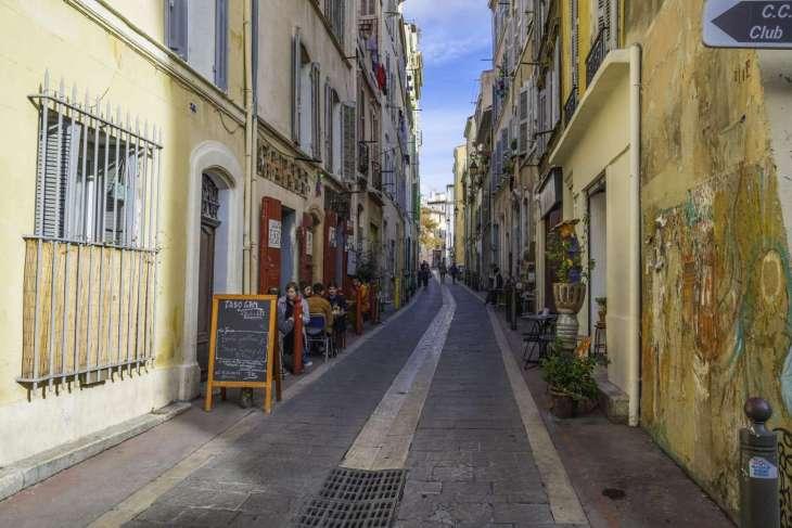 La bellezza struggente del Panier di Marsiglia