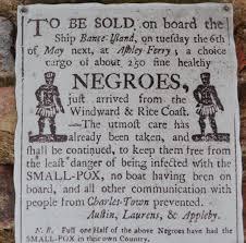 Il mercato degli schiavi di Charleston