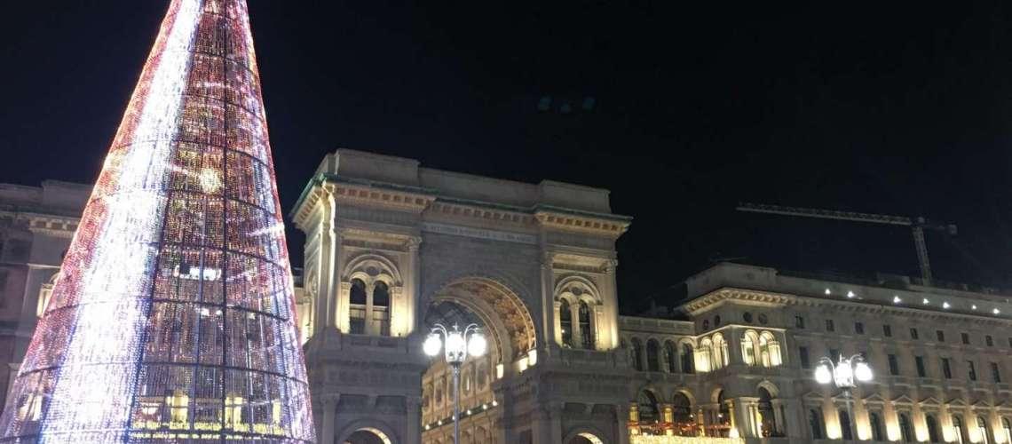 luci di Natale a Milano