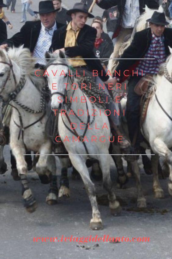 Cavalli bianchi e tori neri,   simboli e tradizioni della Camargue