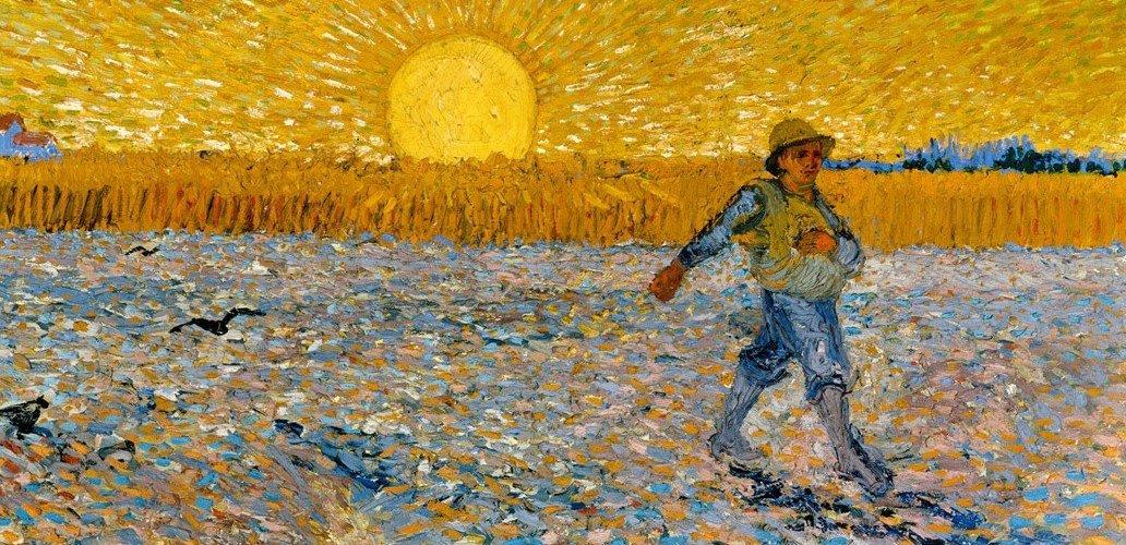 mostra di Van Gogh a Padova, seminatore
