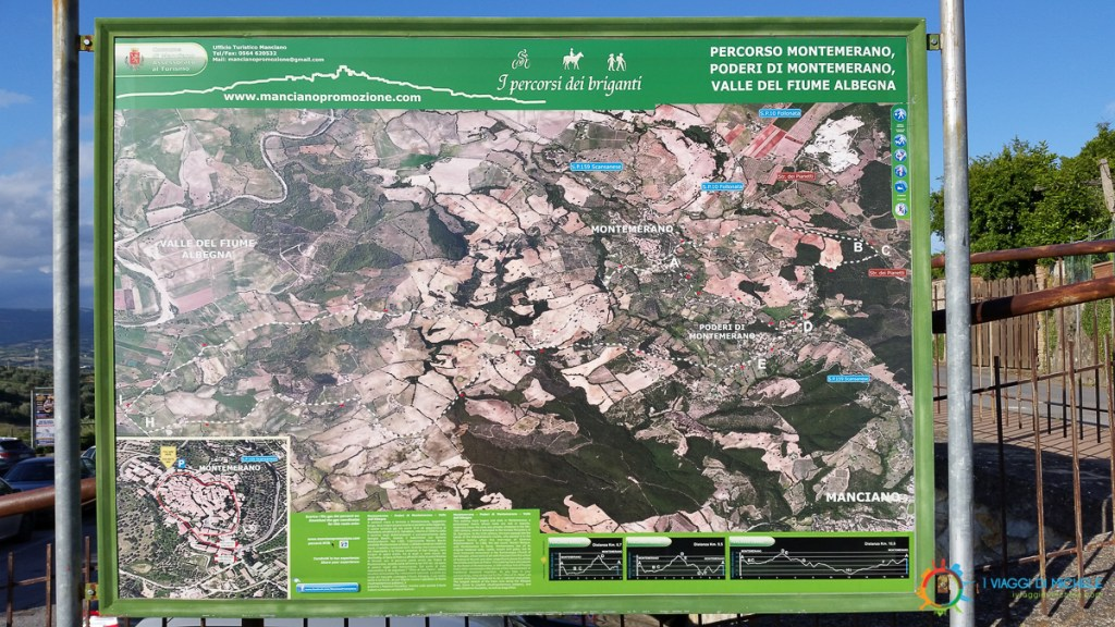 Sentieri Trekking - Montemerano