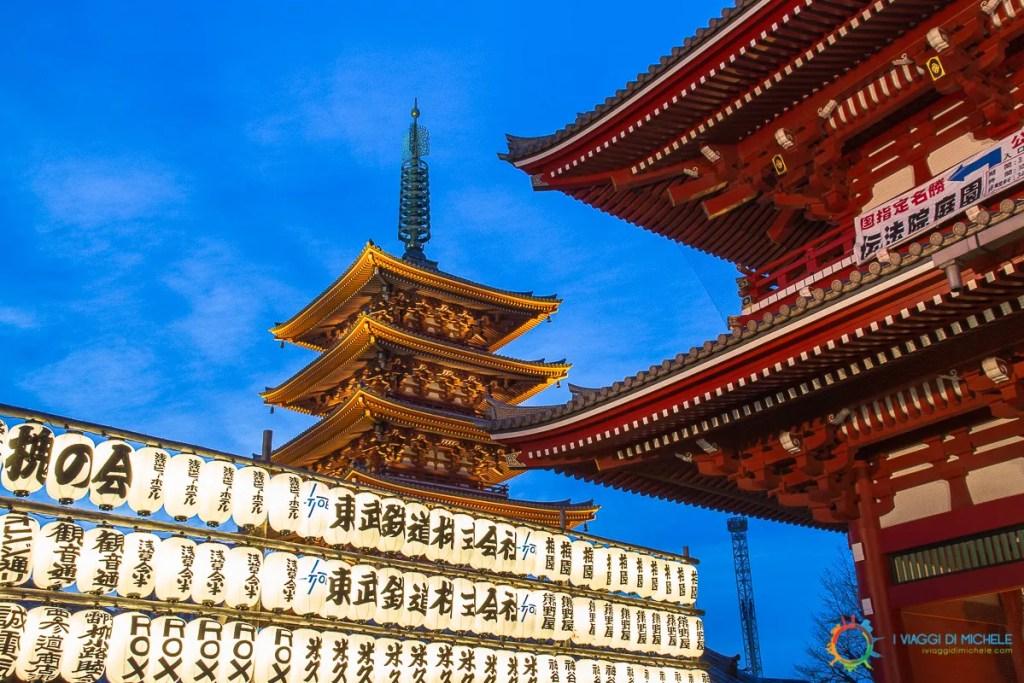 Ora Blu al Sensoji Temple - Fotografia di Viaggio