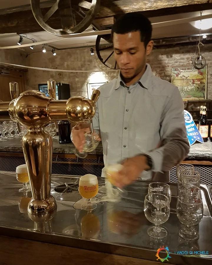 Brasserie Waterloo - Degustazione