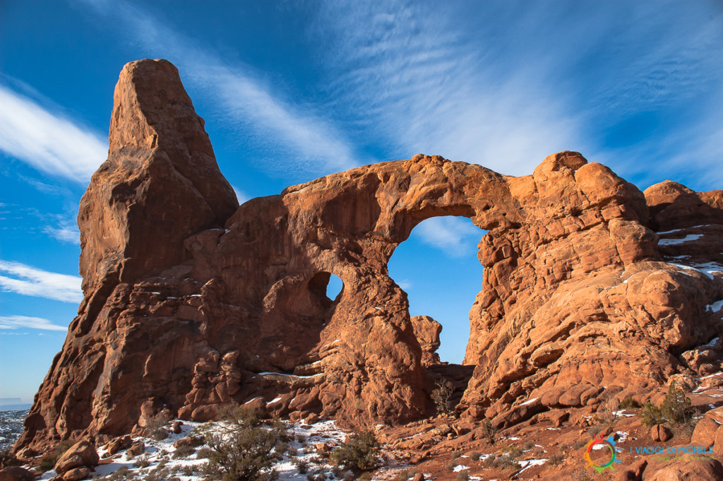 Turret Arch - Arches National Park - Itinerario Utah Arizona