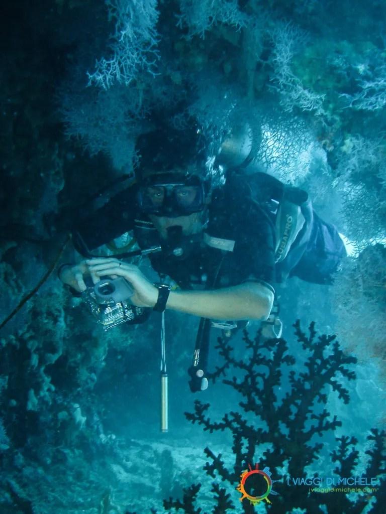 Fotografia subacquea - Assetto in acqua