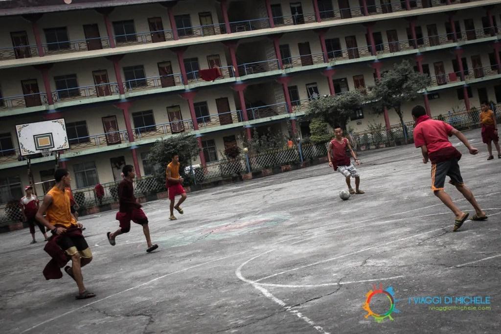 Aspiranti monaci al Jangchub Choeling Gompa
