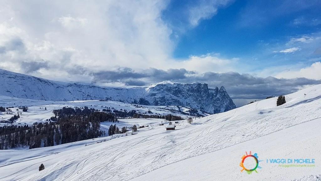 Trekking invernale Alpe di Siusi