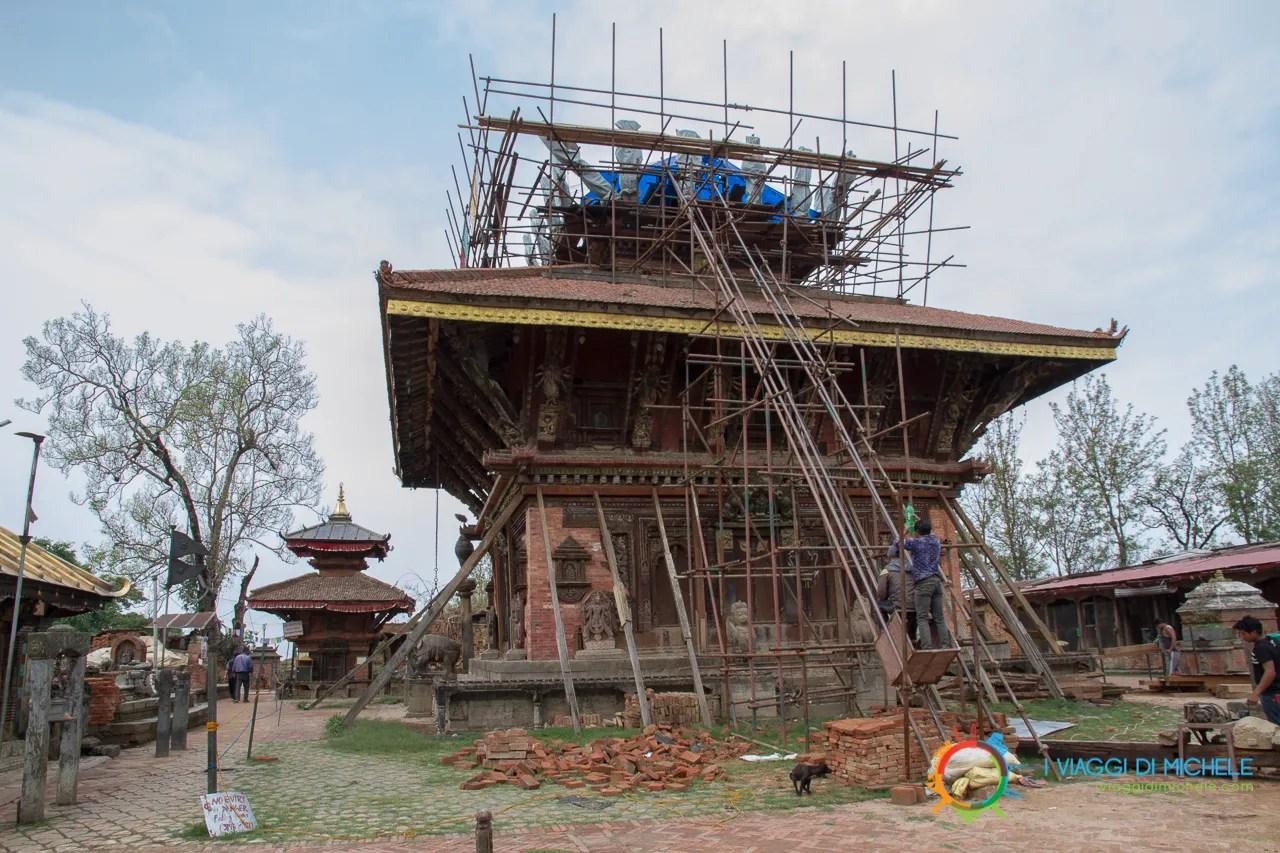 Changu Narayan Situazione Aprile 2017