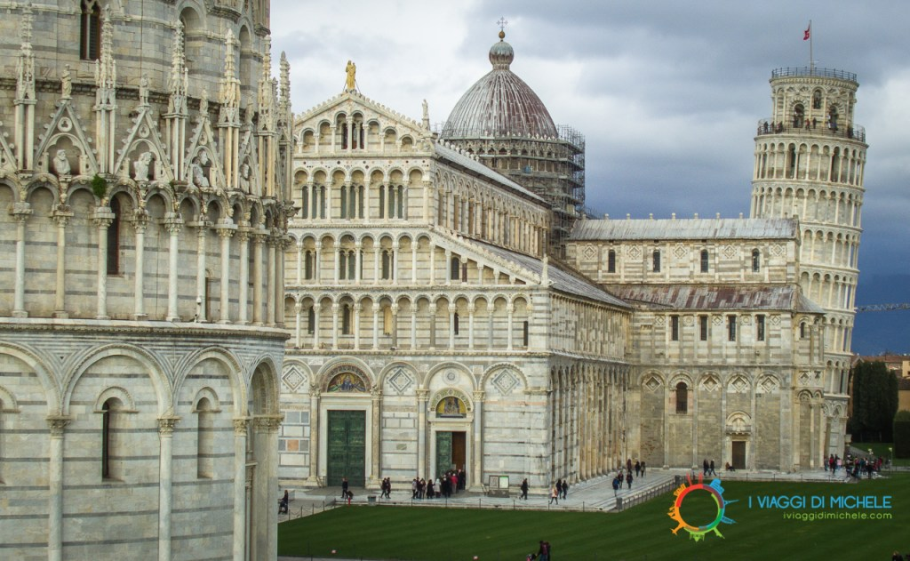 Veduta unica di Piazza dei Miracoli dalle Mura di Pisa - Cosa vedere a Pisa