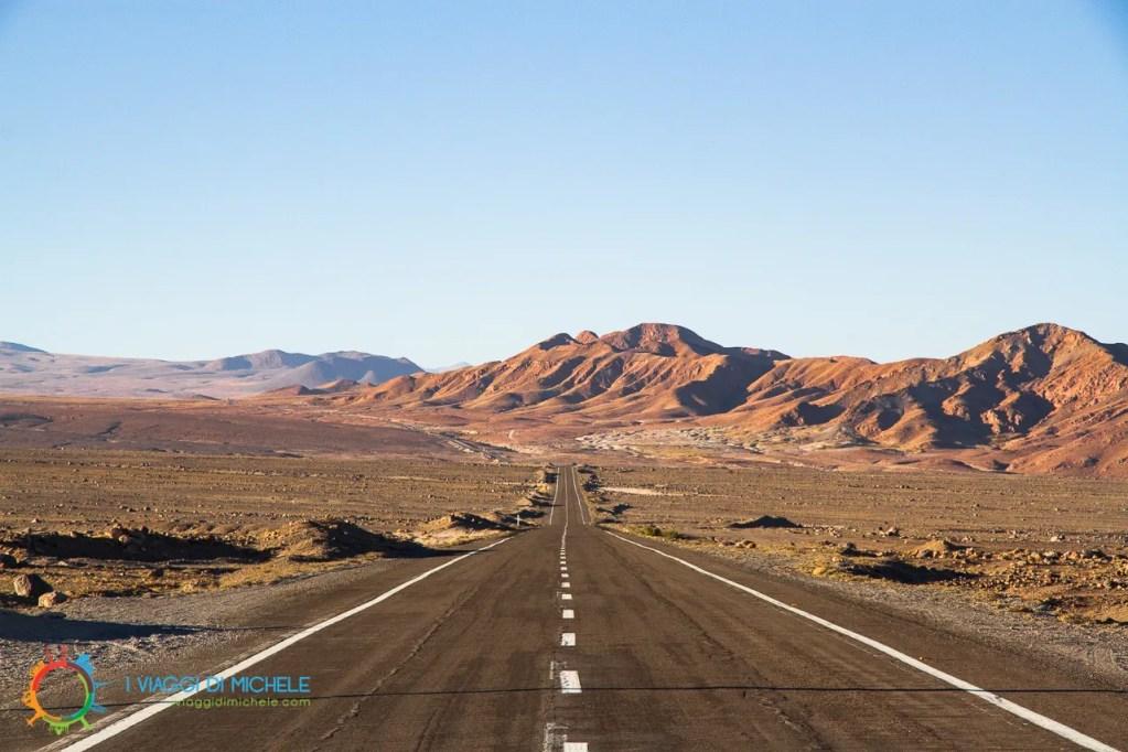 Le strade nel Deserto de Atacama - San Pedro de Atacama