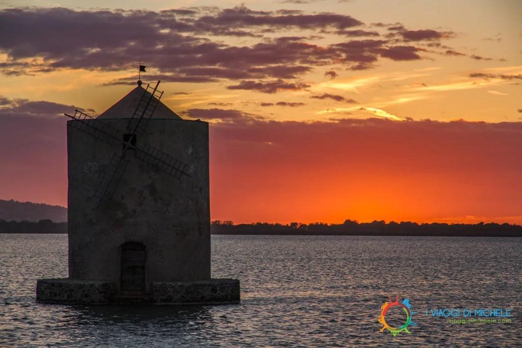 Antico mulino spagnolo nella Laguna di Orbetello