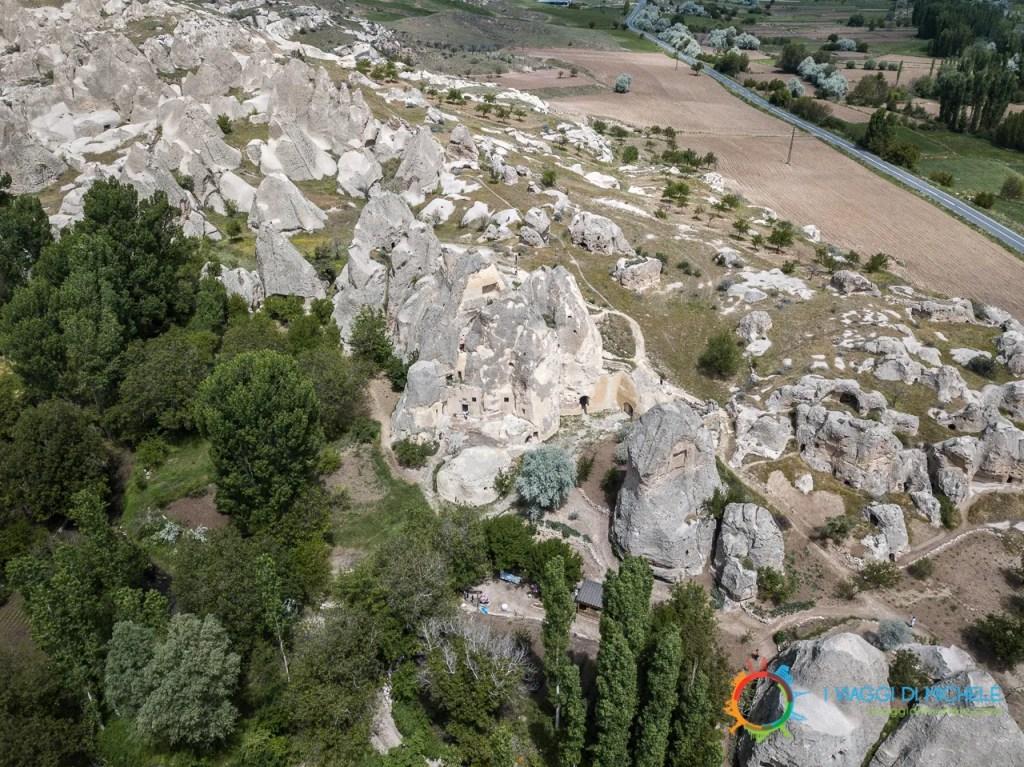 Monastero di Keslik - La Cappadocia