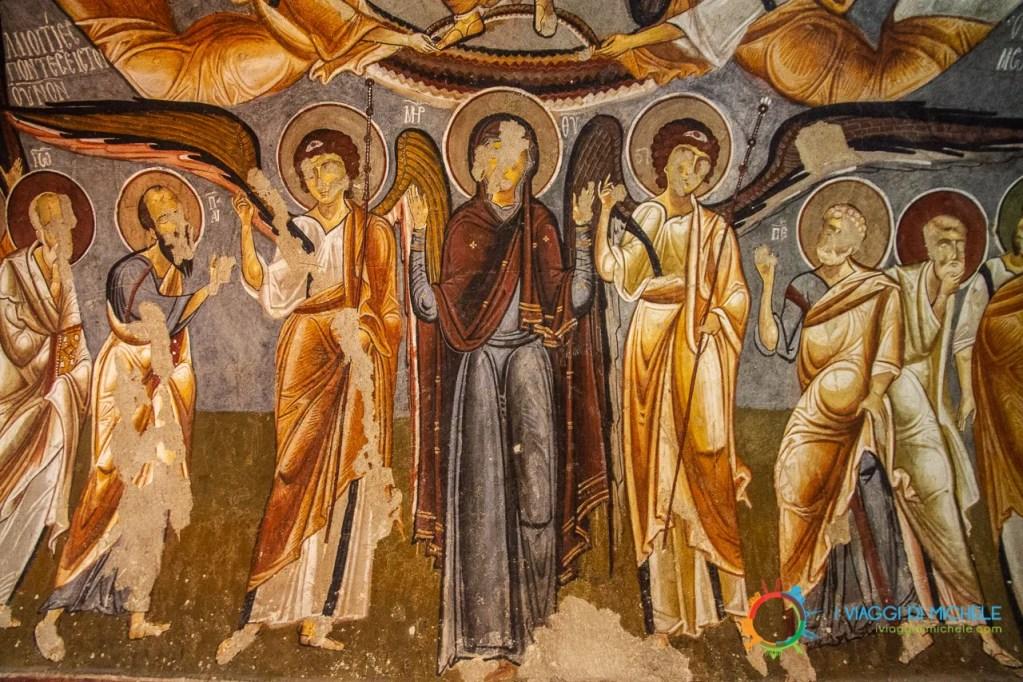 La Chiesa Oscura - La Cappadocia