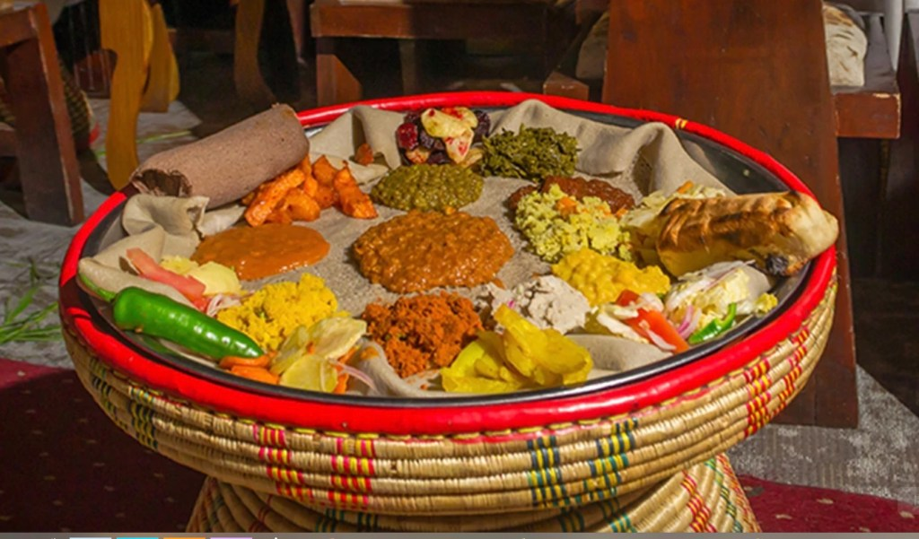 Stopover Addis Abeba - Food