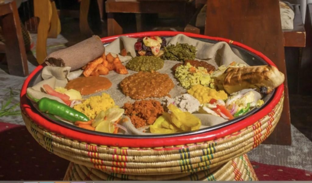 Stopover Addis Abeba - Food