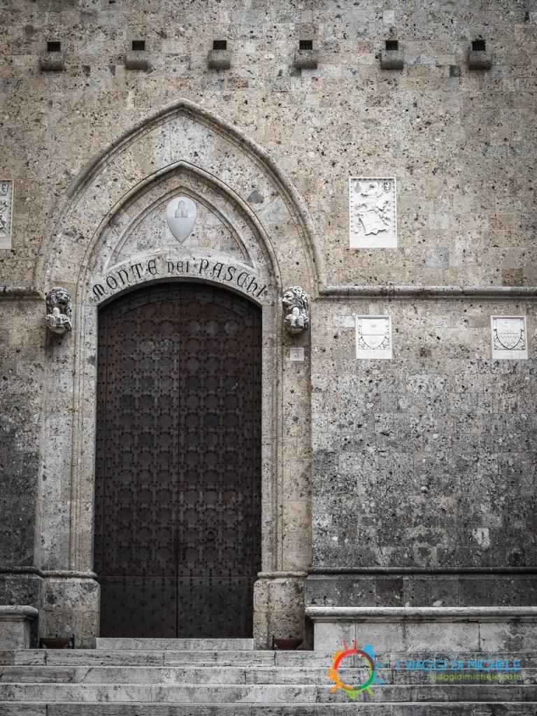 Storica sede del Monte dei Paschi di Siena - Visitare Siena