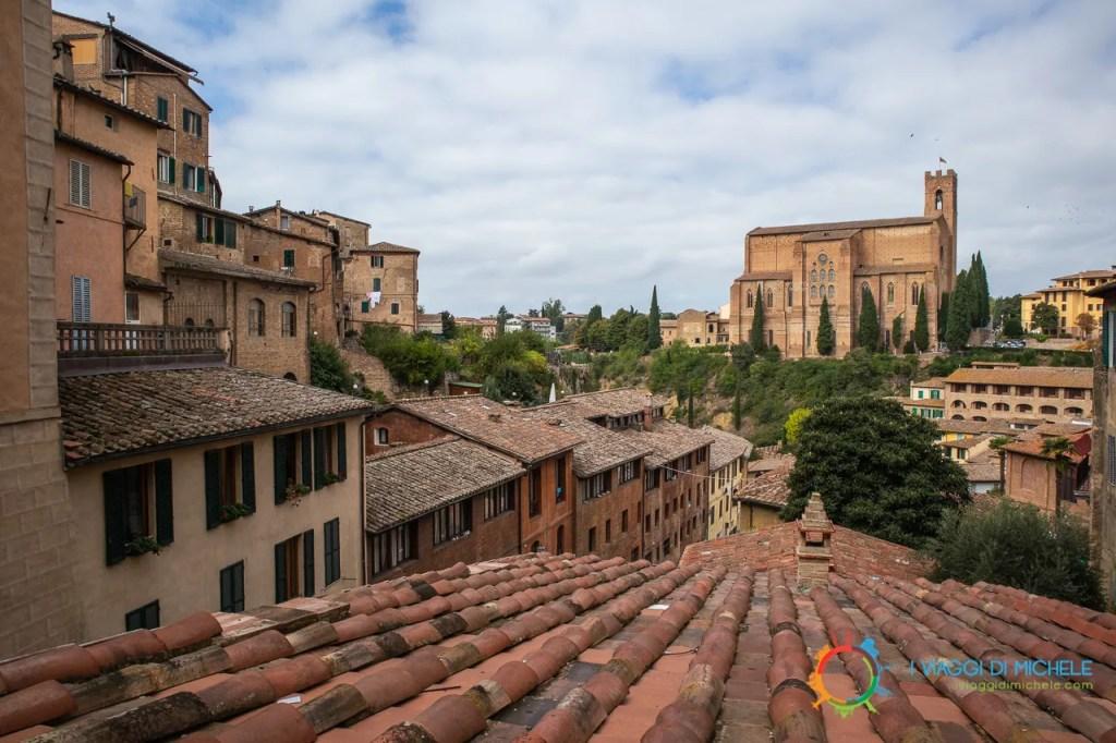 Basilica di San Francesco da Via Galluzza - Visitare Siena