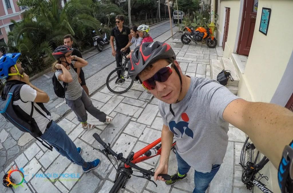 GRCYCLING - Consegna delle Bici - Atene in Bicicletta