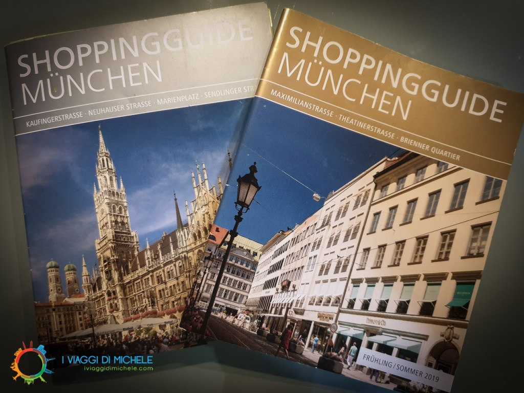 Brochures Shopping Monaco di Baviera