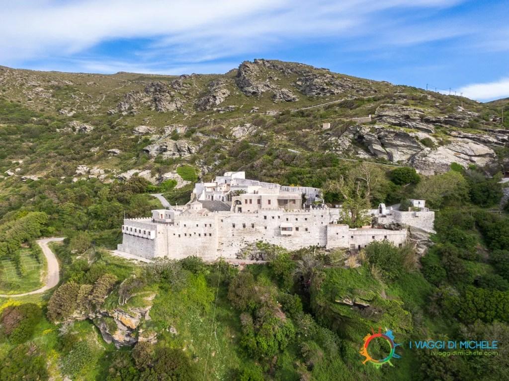 Il Monastero di Panachrantos - Isola di Andros