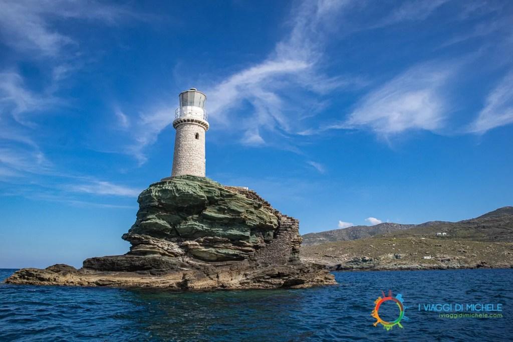 Faro di Tourlitis - isola di Andros
