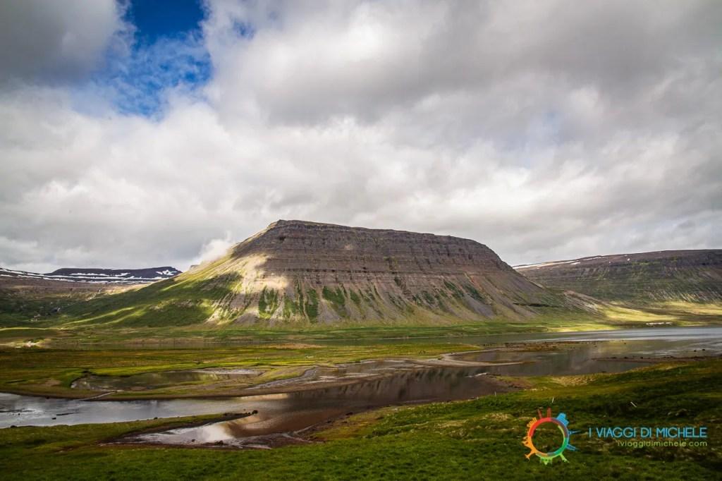 Fiordo Álftafjörður - Fiordi Occidentali Islanda