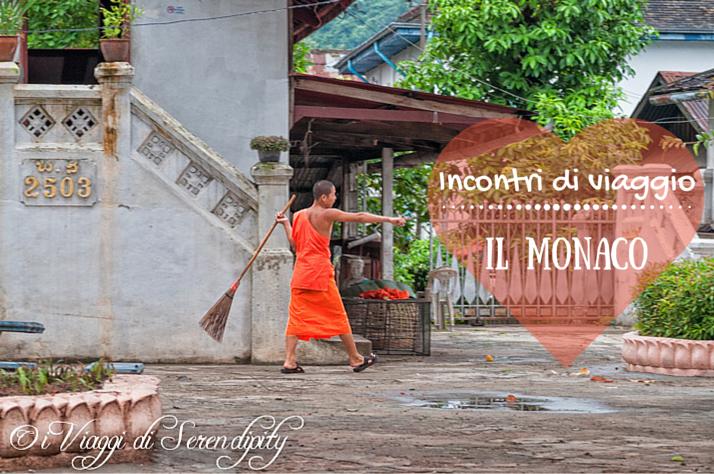 Incontri di viaggio: il monaco