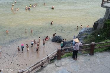 Spiaggia isola di Cat Ba