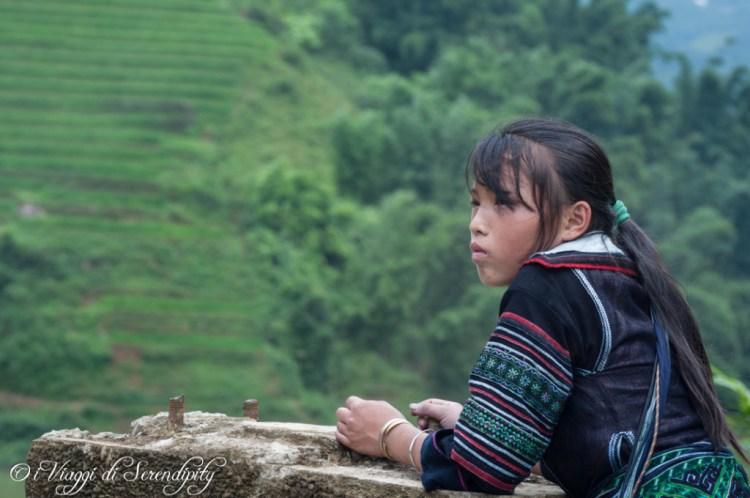 Sapa ragazza Hmonch