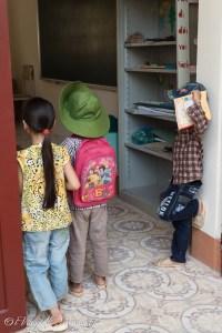 Primo giorno di scuola a Bieng