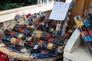 Mercatino di Natale a Levico Terme Cioccolatini Exquisita