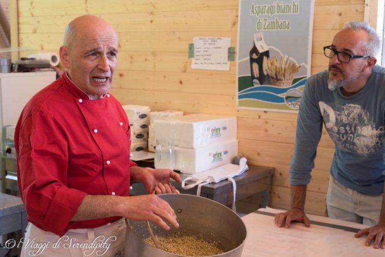 In cucina con Ruggero Zambana Tutti Fuori