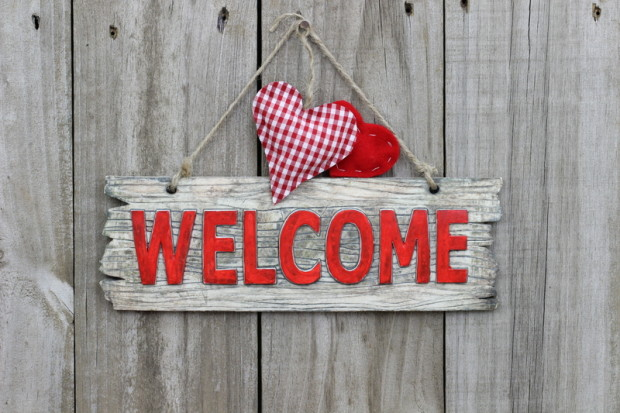 My Global Welcome benvenuto