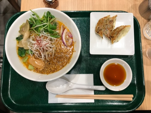 Ramen Vegetariano - T's Tan Tan Tokyo