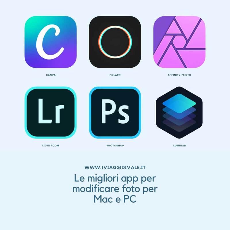 app per modificare foto Instagram per Mac e Pc