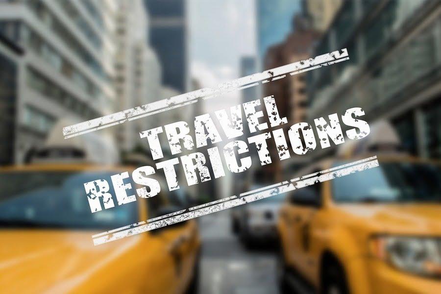 restrizioni di viaggio