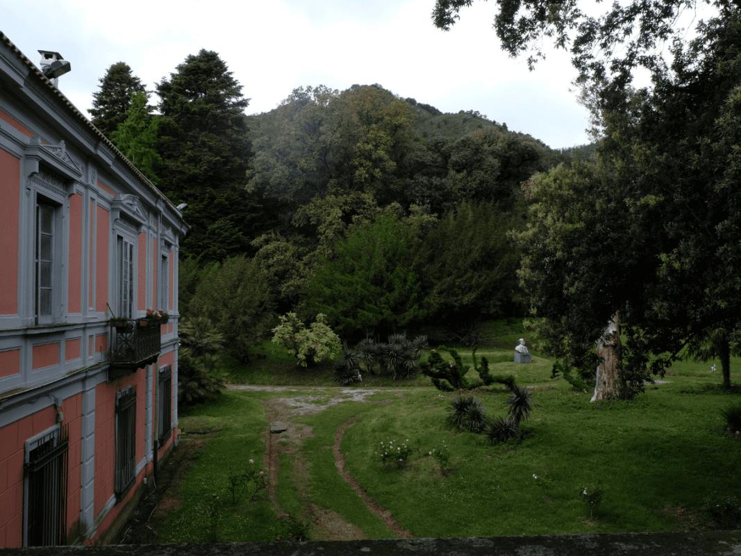 parco giardino villa farina baronissi
