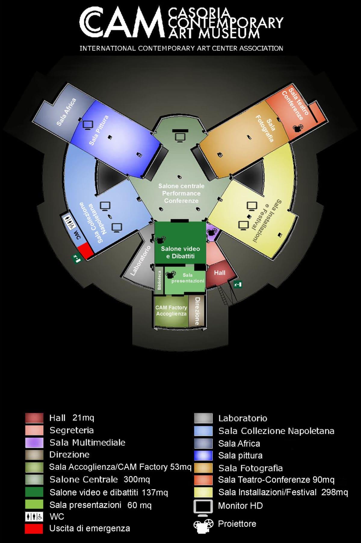 planimetria cam