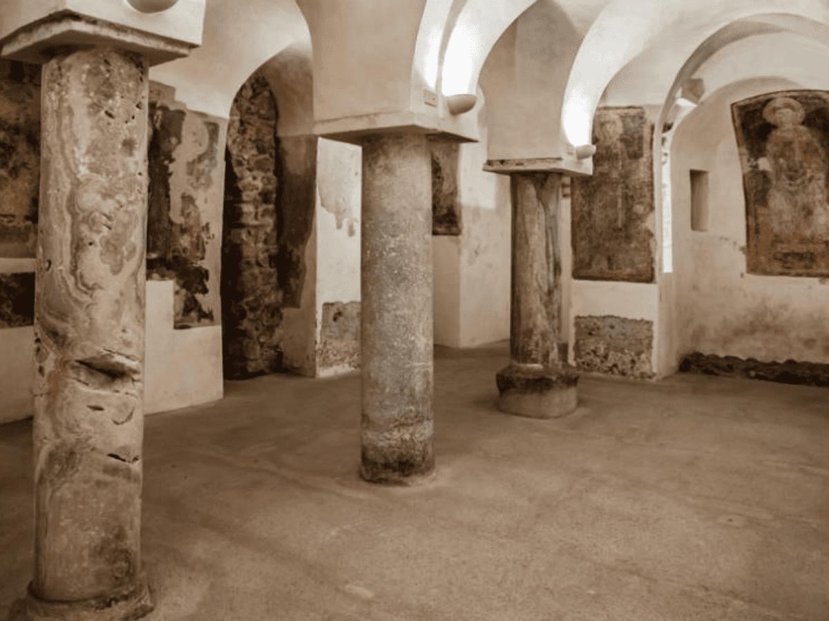 cripta santa maria de lama