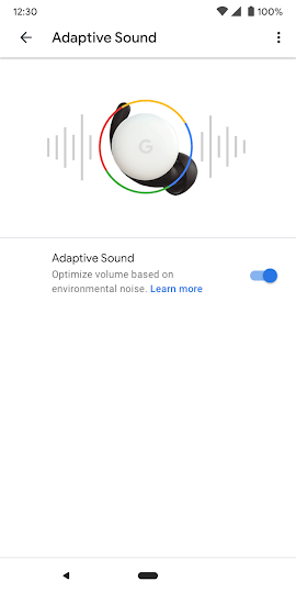 Google Pixel Buds 2 Adaptive Sound