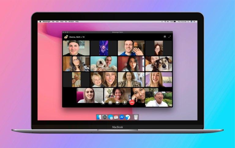 Messenger Room Desktop App