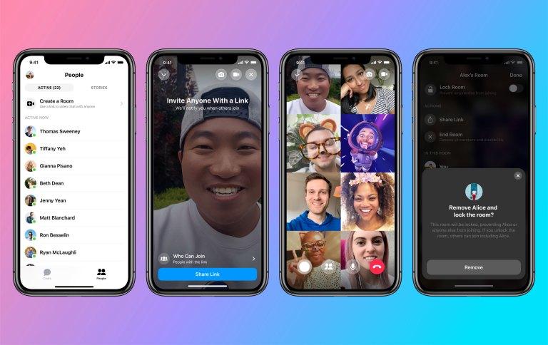 Messenger Room Mobile App