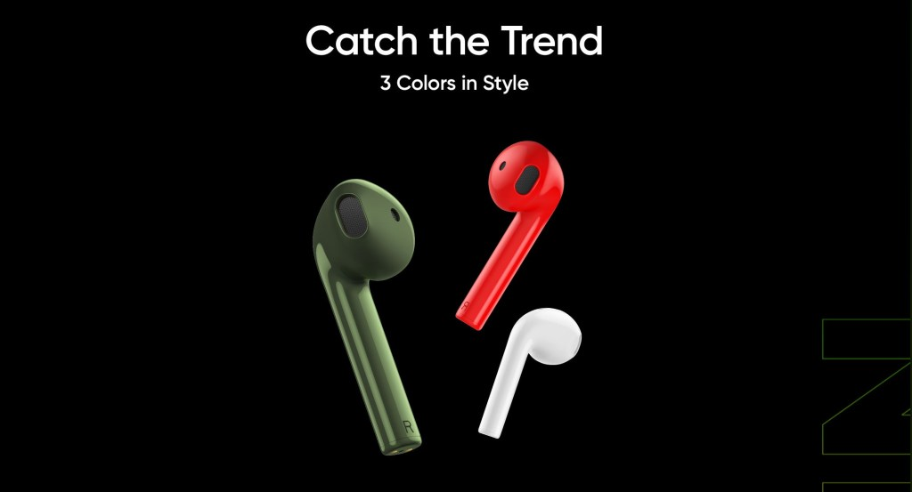 Realme Buds Air Neo Colors