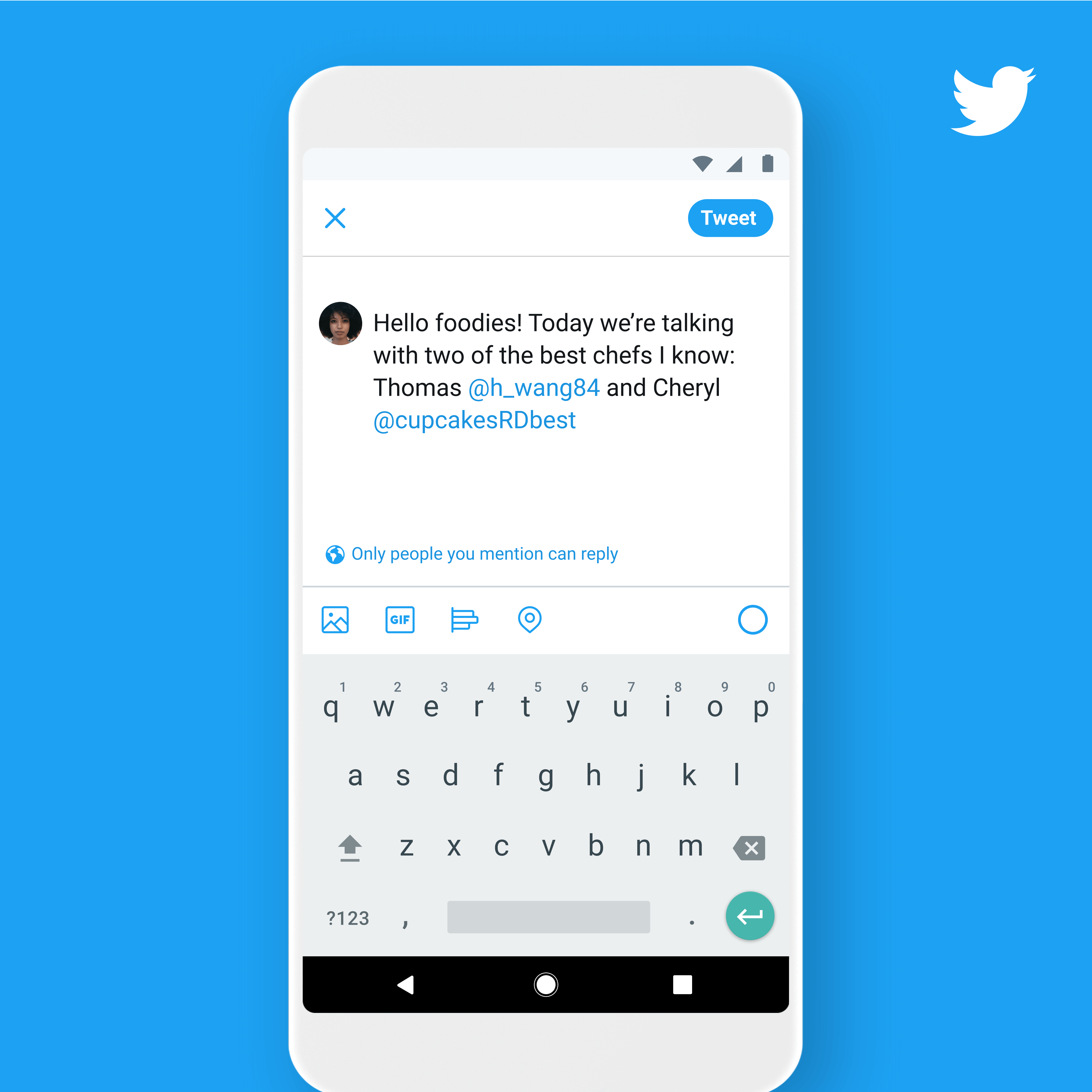 Twitter Officially Rolling Out Replies Limiting Feature to Everyone