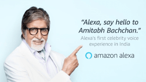 Alexa, say hello to Amitabh Bachchan, the first celebrity can experience a virtual voice in India